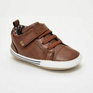 NWT Baby Boys Lee Sneaker Mini Shoes Brown